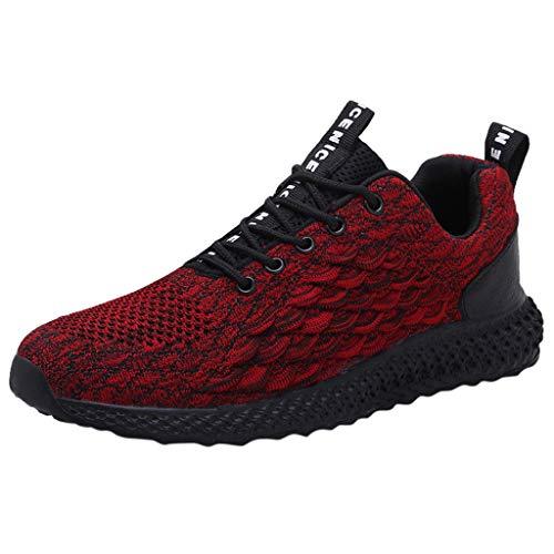 POLPqeD Moda Mesh Sneakers Low Top Sport Running Shoes Casual Walking Scarpe Formatori Traspirante Outdoor
