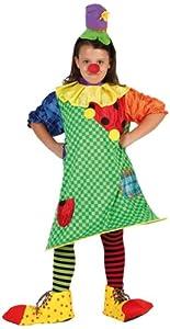 Atosa- Clown Disfraz Payasa, 7 a 9 años (6754)