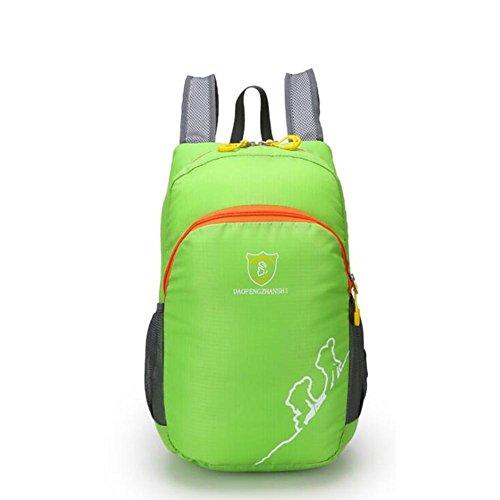 SZH&BEIB Faltbare Rucksack Wasserdichte Nylon Ultra Light für Outdoor Reit Tasche Klettern Wandern Wasser-Beutel G