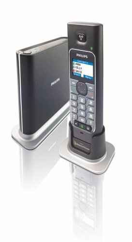 Philips VOIP 433 Phone schnurloses Telefone mit VIOP-Funktion Windows Live Messenger - Telefon Schnurloses Philips