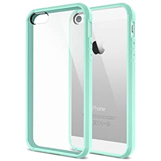 Spigen iPhone 5S/5 funda carcasa case Ultra Hybrid Mint (ECO Package) SGP10704 (B00HDPMU9Y) | Amazon price tracker / tracking, Amazon price history charts, Amazon price watches, Amazon price drop alerts