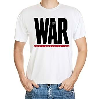 BulldogShirts This Is War 30 Seconds To Mars T-Shirt - XX-Large Herren