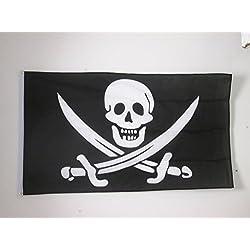 Bandera Pirata Jack Rackham, 150 x 90 cm.