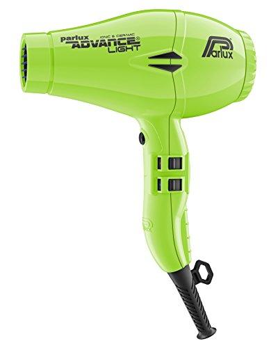 Parlux Advance Light - Secador de pelo ionico, Verde