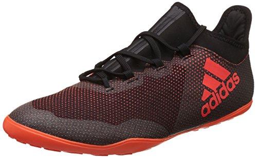 Adidas Herren X Tango 17.3 in Fußballschuhe, Mehrfarbig (Core Black/Solar Red/Solar Orange), 43 1/3 EU