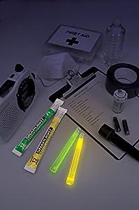 Cyalume Technologies SA8-108076AM - Paquete de barras de luz, 15 cm