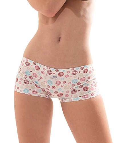 Croota Damen Seamless Panties Unterhosen - Comfort SD01-IVORY