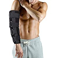AidShunn Adjustable Brace Splint Elbow Fracture Immobilizer Protector for Tunnel