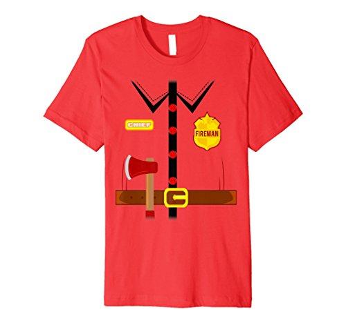 Feuerwehr Kostüm Shirt -