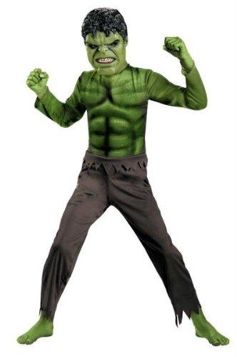 Costume hulk bambino taglia m