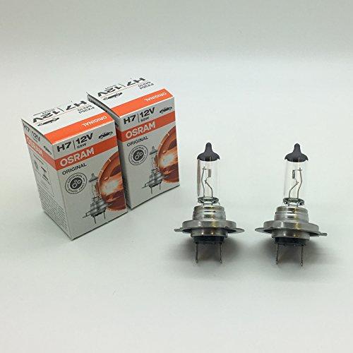 Preisvergleich Produktbild 2x Osram H7477Halogen Auto Scheinwerfer Scheinwerfer Lampe 49912V 55W PX26d 64210