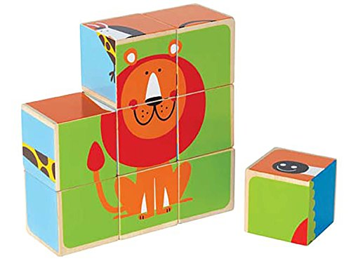 Hape - Puzzle con bloques zoo (0HPE0421)