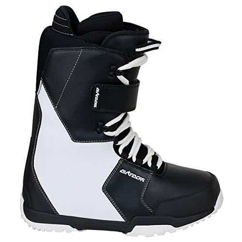 Airtracks Snowboard Softboots Savage Black White - 43