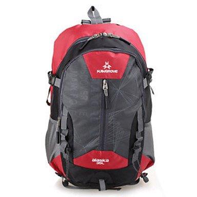 55 L Rucksack Multifunktions Grün Rot Grau Schwarz Blau Black