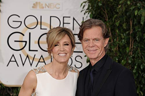 Felicity Huffman, William H. Macy At Arrivals For The 72Nd Annual Golden Globe Awards 2015 - Part 2, The Beverly Hilton Hotel, Beverly Hills, Ca January 11, 2015. Photo By: Linda Wheeler/Everett Collection Photo Print (50,80 x 40,64 cm)