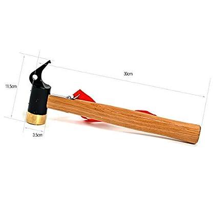 Itian Almádenas – Martillo Multifunción Para, un martillo de camping (11.5 x 35cm)