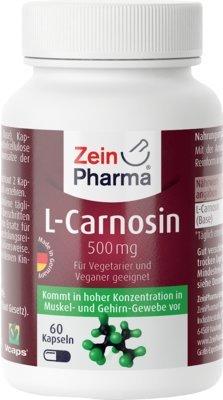 L-CARNOSIN 500 mg Kapseln 60 St Kapseln