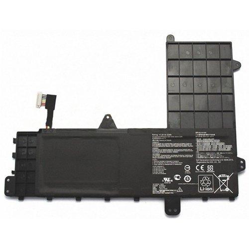 amsahr B21N1506-02 Ersatz Batterie für Asus B21N1506/ EeeBook E502MA/ XX0016D/ XX0020H/ 0B200-01430600 schwarz