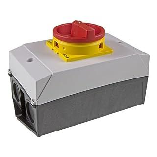 Eaton 207314 Hauptschalter, 3-polig, 32 A, not-aus-Funktion, abschließbar in 0-Stellung, Aufbau