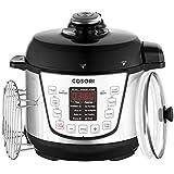 COSORI Electric Pressure Cooker 2 Quart Mini Rice Cookware, Digital Non-Stick 7-in-1 Multi-Function 800W