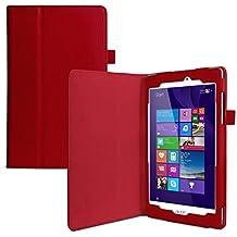 eFabrik–Funda para Acer Iconia Tab 8W (W1–810) Case 7,9pulgadas–Funda Bookstyle Cover Soporte Piel sintética