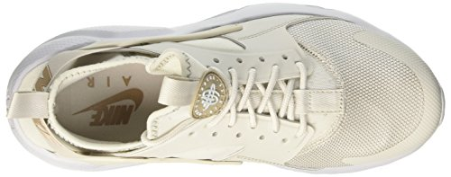 Nike Air Huarache Run Ultra, Chaussures de Gymnastique Homme Beige (Light Bonekhakipure Platinum 015)