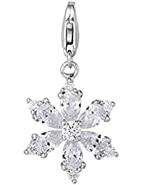 Fei Liu Fine Jewellery Charms con Cierre Mujer Plata - SNF-925R-607-CZ00