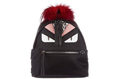 Fendi-mochila-bolso-de-mujer-nuevo-occhi-mostro-negro