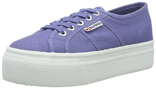 Superga Damen 2790 Acotw Linea Up and Sneakers Blau (blue velvet)