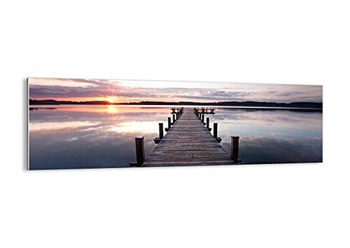 Bild auf Glas - Glasbilder - Einteilig - Breite: 160cm, Höhe: 50cm - Bildnummer 2635 - zum Aufhängen bereit - Bilder - Kunstdruck - GAB160x50-2635