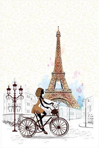 Desconocido Estor Enrollable TRANSLUCIDO Dibujo Paris A Todo Color - Estor Digital TRANSLUCIDO DE Paris (130X175)