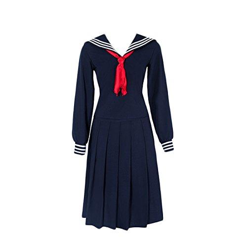 Uniform Japanisch Anime Cosplay Langarm Kostüm Outfit (Beste Anime Cosplay Kostüme Für Mädchen)