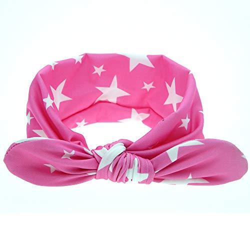 Easy Go Shopping Bande de Cheveux pour Enfants en Gros Lovely Tissu Art Oreilles de Lapin Bandeau Filles tête Cerceau Bébé Pneu Enfants Rose Hat Roll (Couleur : 6)