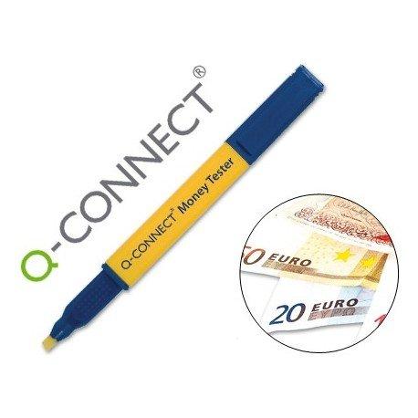 Q-Connect Rotulador Money Tester Pen Para Detectar