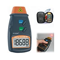 Aek-Tech Dt2234-C Lazer Takometre Devir Ölçer, Siyah