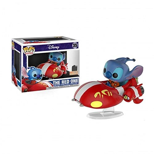 Figura Pop Disney Lilo & Stitch The Red One Exclusive
