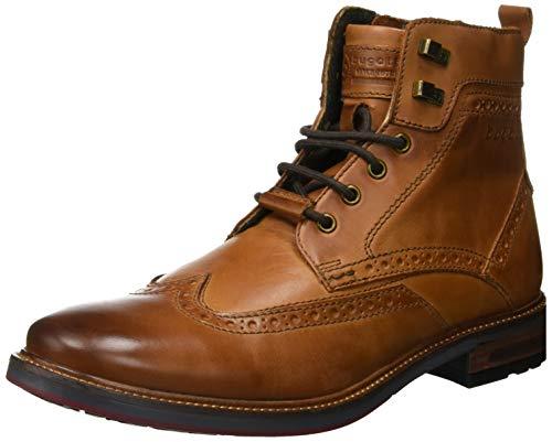 Spitze Leder Boot Schuhe (bugatti Herren 311377371100 Klassische Stiefel, Braun, 41 EU)