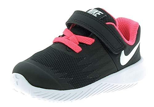 Nike Unisex Baby Star Runner (TDV) Hausschuhe, Schwarz (Black/White/Volt/Racer Pink 001), 19.5 EU