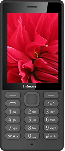 Infocus Hero Smart P4 Basic Feature Mobile Phone (Black)