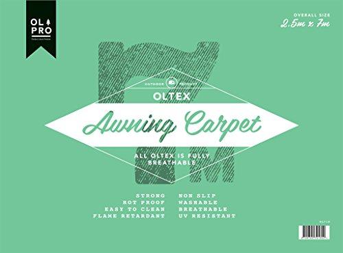 OLPro OLTex atmungsaktiv Vorzelt carpet-green/grau, 2,5x 6m, unisex, Oltex Breathable, grün/grau