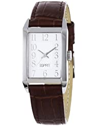 Esprit Damenuhr Fundamental Silver Brown A.ES000A.EO2007