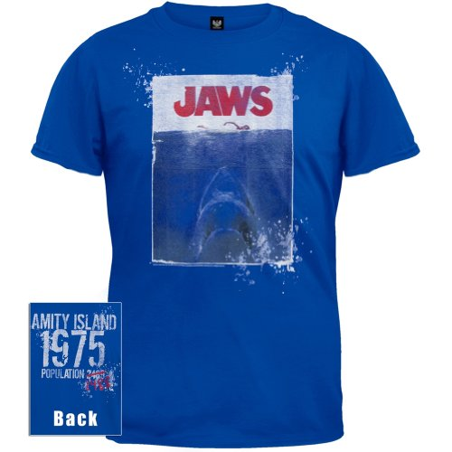 Old Glory Men's Jaws Amity Island T-Shirt