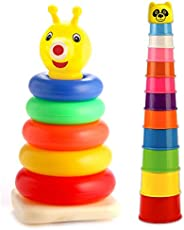 SARTHAM Baby Toy Set, Stacking Toys for Kids (Age 1+)