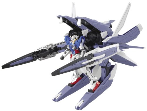 00 Gundam Exia Transform Mode + GN Arms Type GUNPLA HG High Grade 1/144 -