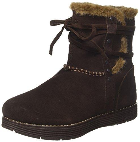 Skechers Damen Adorbs - Plushy Stiefel, Braun (Chocolate), 39 EU Extreme Cold Weather Boot