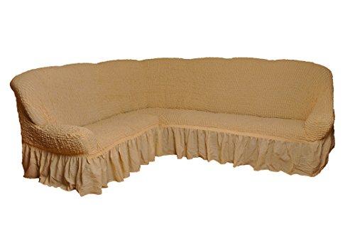 My Palace Funda para sofá esquinero de 2+ 3plazas en 7Colores, naturell, Variante A