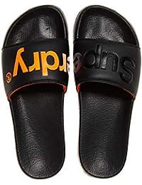 size 40 7d266 7de69 Superdry Pool Slide, Chaussures de Plage   Piscine Homme