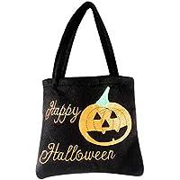 Preisvergleich für Transer® Halloween Kürbis Süßigkeit Tasche Kinder Party Aufbewahrungsbeutel Reizende Halloween Dekoration für Trick oder Leckerei, wiederverwendbare Einkaufstasche Handtasche