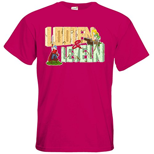 getshirts - Rocket Beans TV Official Merchandising - T-Shirt - Looten & Leveln Sorbet