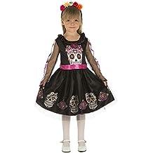 My Other Me - Disfraz de calaverita para niña, 7-9 años (Viving Costumes 204034)
